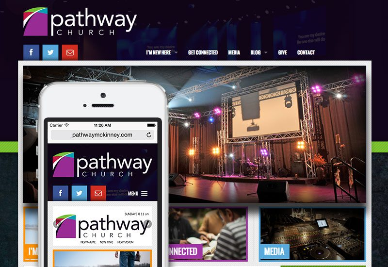 Pathway Church of McKinney Website Design