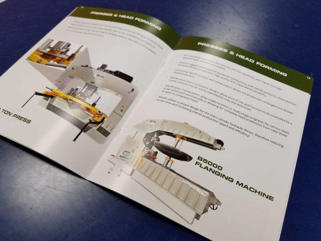Fabrication Technology Solutions Brochure - Graphic Design - Print - Absolute Technology Solutions - Inner Page 1