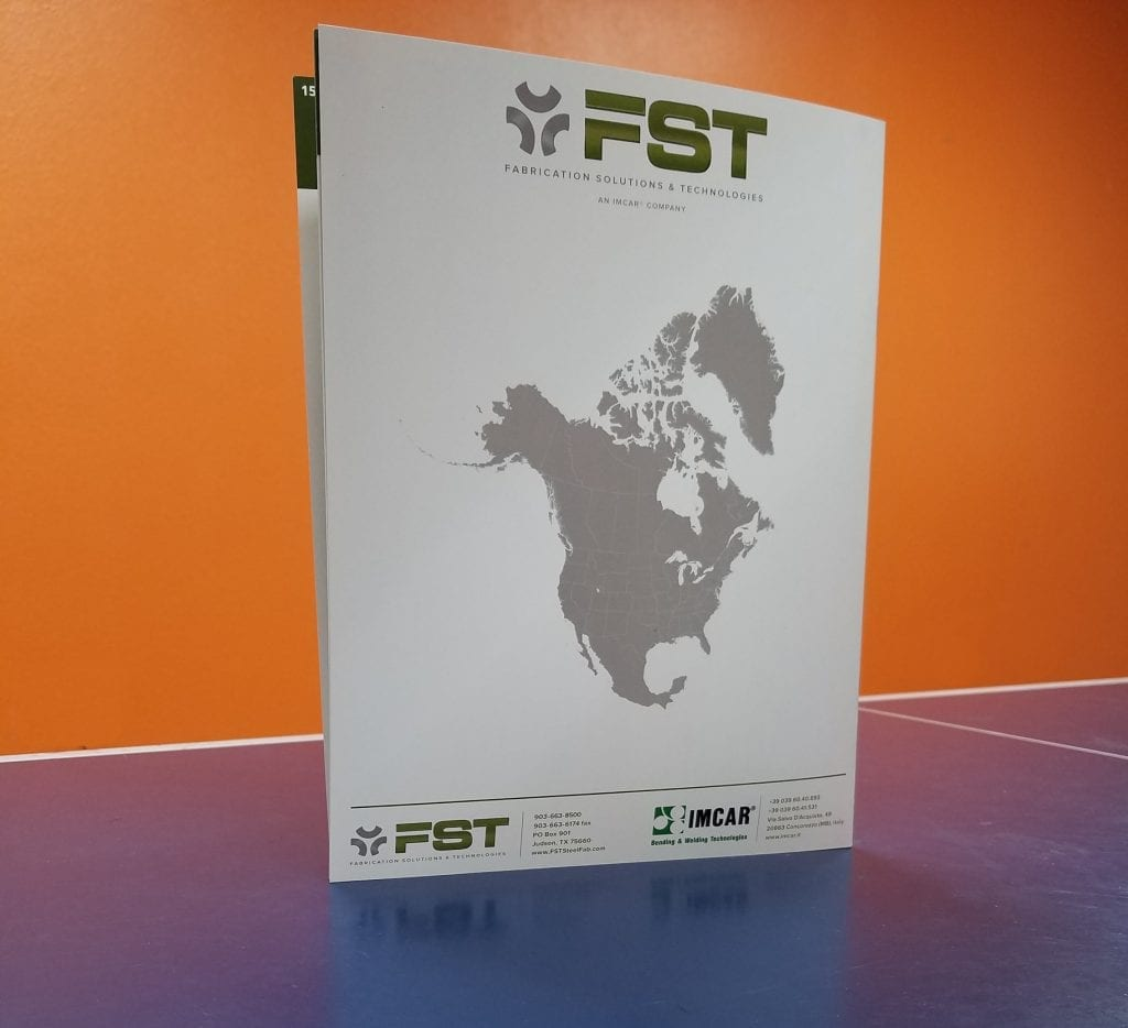 Fabrication Technology Solutions Brochure - Graphic Design - Print - Absolute Technology Solutions - Back