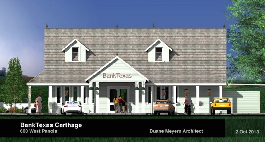 BTH Bank in Carthage, TX | Transet Co.